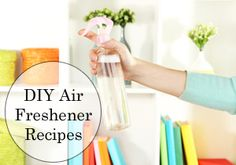 DIY Fall Scented Air Freshener Recipe