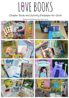 Chapter Book and Activities for Girls: wood peg dolls, journals, princess play and more!