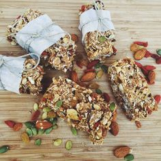 Raw Peanut Butter Nut & Seed Bars — Lee Tilghman