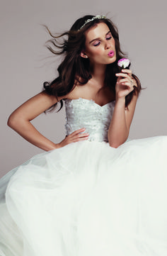 Roses by Reem Acra Gown