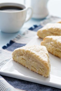 Glazed Vanilla Bean Scones from @bakingaddiction