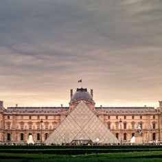 The Louvre, Paris, France. Made all those hours studying art history so worth it!