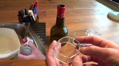 Cutting glass bottles into rings easily with thermal stress https://www.youtube.com/watch?v=wwwKD1VAQCo