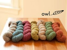 yarn from aalerusen.blogspot.com cloth + wool Pinterest Yarns
