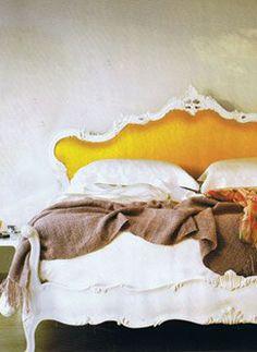 victorian modern bed.