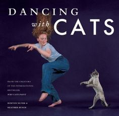 Dancing With Cats | 15 Incredibly Weird Things You Can Buy On Amazon For Under $15 (it says under it: From the creators of the international bestseller Why Cats Paint)