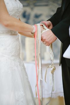 "Ancient tradition of Handfasting, this is where the phrase ""Tying the knot"" originated. Works beautifully in modern ceremonies."