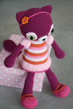 cute #amigurumi #cat