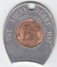 1953-D Lucky Penny Hat Encased Coin