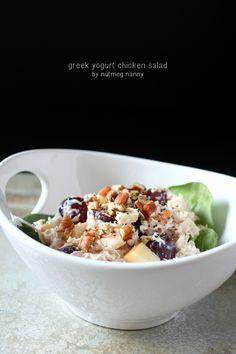 Pistachio Cinnamon Chicken Salad