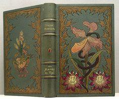 First edition of Les Fleurs du mal by Charles Baudelaire.  Paris: Poulet-Malassis et de Broise, 1857.