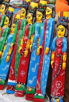 Wooden Handicrafts - West Bengal, India