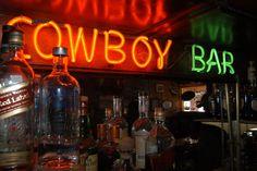 Meeteetse Wyoming.  The Cowboy Bar