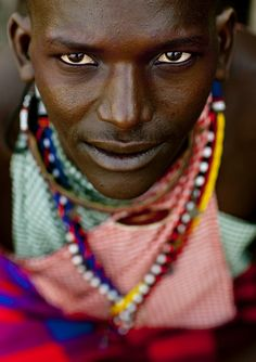Maasai warrior, Kenya