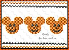 Disney Mickey Mouse Halloween Fall Pumpkin by Thanks4TheAdventure