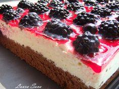 Prajitura cu mure si crema de lamaie | Retete culinare cu Laura Sava