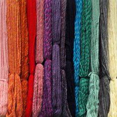 These super chunky yarns (often called Super-bulky in the U.S.A.) are manufactured here in Yorkshire - just down the road from Joe's Toes. This beautifully soft knitting yarn is also known as pencil roving yarn. We just wish you could feel it through your screen! We have three qualities: 100% merino wool in solid colours, fabulous merino twisted colours and super-luxurious merino-silk blends. All are perfect for  knitting our adult size slipper, crochet, wet felting and needles felting and…