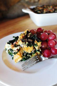 Sausage-Kale Breakfast Strata