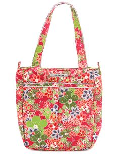 Enter to win a fab diaper bag prize package in Perky Perennials from @jujubebags