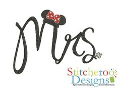 Mrs Mouse filled embroidery set by Stitcheroo Designs.