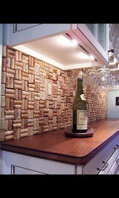 Arte con corchos de botellas de vino arquitectura for Decoracion con corchos