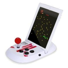 Atari Arcade Duo - Just connect the device to your iPad.