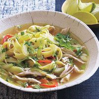 Coconut Curry Chicken Noodle Soup | Recipe | Coconut Curry Chicken ...