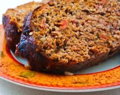 Kalyn's Kitchen®: Recipe for Grain-Free Meatloaf with Tomatoes ...