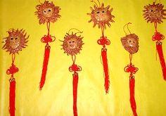 auspicious lions craft