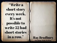 Five quotes about writing