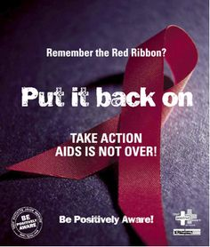 Be Positively Aware! #hiv #aids