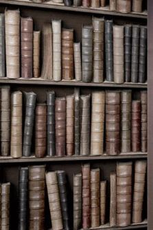 Antique Bibliotheque Wallpaper 7.6m roll - Koziel,