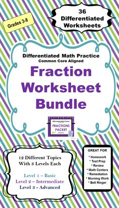 Fractions (Improper) - 4th Grade   Fractions, Student and Numbers