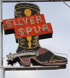 Silver Spur Motel - by Mike Garofalo