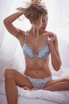 This bra's secret: Memory Fit for extra support. So it's perfect inside AND out. | Victoria's Secret Push-Up Bra