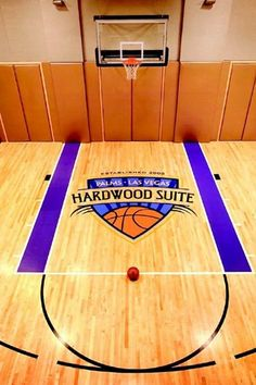 It has its own basketball court and locker room.