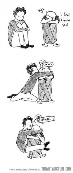 The best way to cheer someone up...