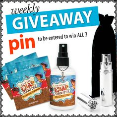 It's time for our weekly GIVEAWAY pin it to win it!! Repin to be entered to win! (Contest ends noon tomorrow 6/11)