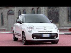 Fiat 500L - In the city