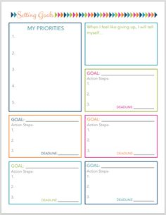 Simplify: 25 Printables to Help You Organize Your Life | JustAGirlAndHerBlog.com