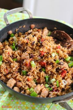 Tequila-Lime Chicken with Mexican Black Bean Sauce by Elly Says Opa ...