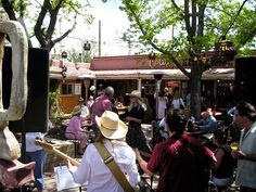 Cowgirl Cafe in Santa Fe, NM...a fun time for all!