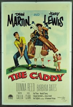 The Caddy, starring Jerry Lewis and Dean Martin - Our house just fills up with laughter when we put this movie on! :)