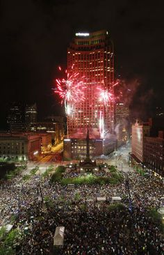 cleveland 4th of july fireworks