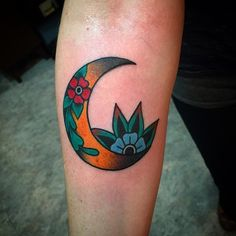 I 39 d put more feathers on the bottom and holly instead of a for Goodnight moon tattoos