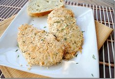 Eat Yourself Skinny - Baked Parmesan and Herb Chicken