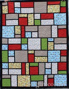 Jack's Blocks quilt pattern by A Bright Corner