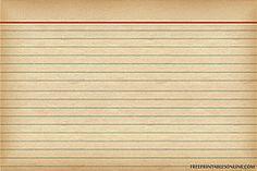 free vintage recipe card download
