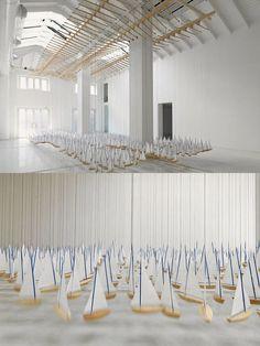 Amazing Art installation by Jacob Hashimoto