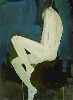 #portrait #nude #painiting Stephen Poling